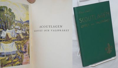 Stockholm: C.E. Fritzes Bokforlags Aktiebolag, 1935. Hardcover. 78p., illustrated with 7 color plate...