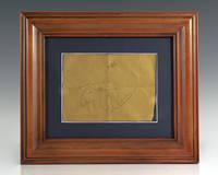 image of Apollo Astronauts Signed Note.