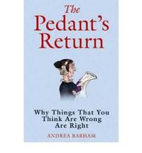 The Pedant's Return