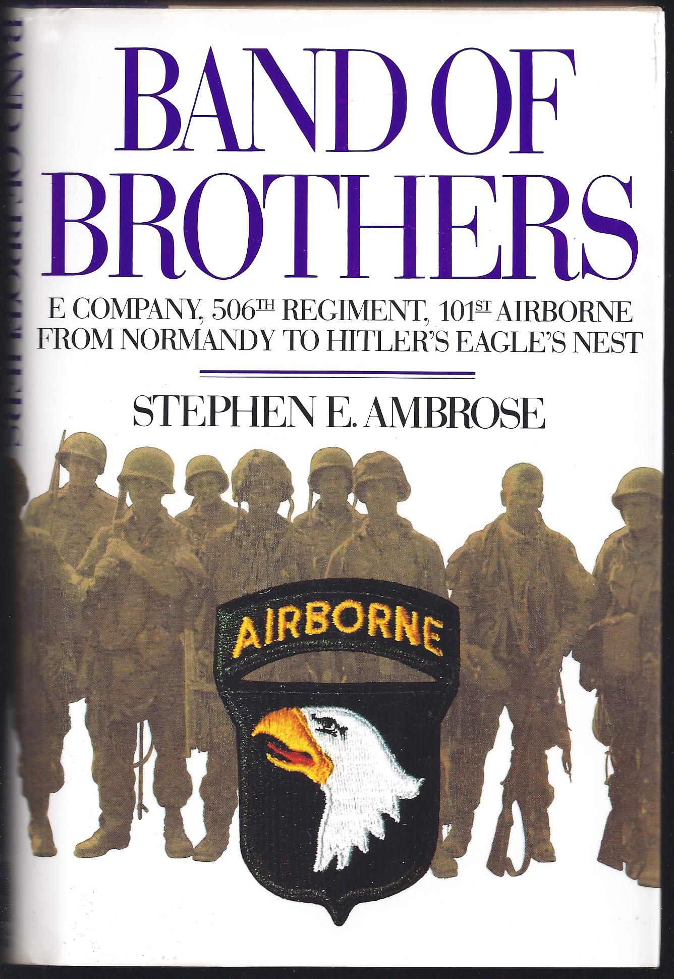 book report band of brothers A band of brothers free essay, term paper and book report band of brothers iauthors background stephen ambrose was born in 1936 and grew up in whitewater, wisconsin, a small town where his father was the md.