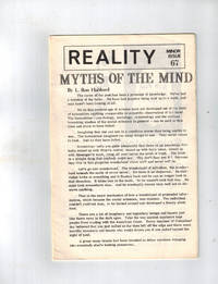 """Reality: Minor Issue 67 - """"Myths of the Mind"""""""