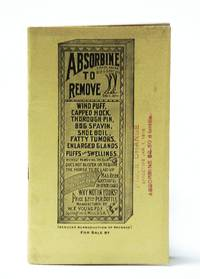 "Absorbine ""The Antiseptic Linament"" - Vintage Horse Medication Promotional Booklet"