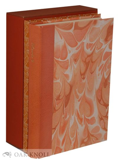 Manor Farm: The Whittington Press, 1986. quarter leather with marbled paper-covered boards. Whitting...