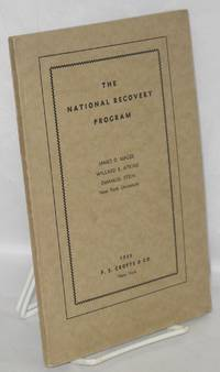 image of The National Recovery Program