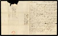 "A.L.S. to John Brown (""Care of Governor Hancock, Boston"")."