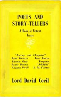 POETS AND STORY-TELLERS. A Book of Critical Essays