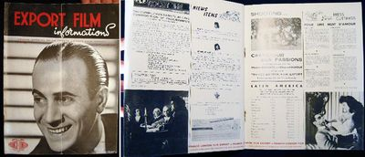 Paris: Franco-London Film Export, 1947. (6) pages; cover photo of Tino Rossi; black and white illust...