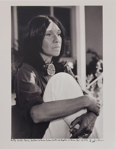 Los Angeles, 1979. Limited edition (1 of 6). Description: Buffy Sainte-Marie at the Southern Califor...