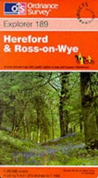 Hereford and Ross-on-Wye (Explorer Maps) by Ordnance Survey