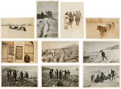 [Various locations in Oregon and Alaska, 1930. Approximately 325 photographs, twenty postcards and r...