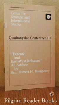 """image of """"Detente and East-West Relations"""" an Address. (Quadrangular Conference  III)."""