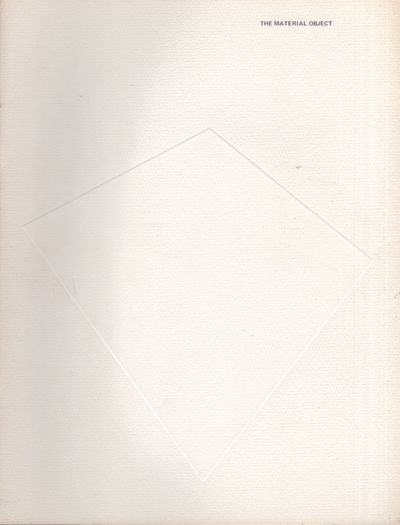 Cambridge: Hayden Gallery Massachusetts Institute of Technology, 1980. First Edition. Soft cover. Ve...
