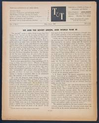 image of Trends and Tides. Vol. 1 no. 3 (May-July 1945)