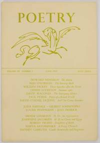Poetry Magazine, Vol. 100 Number 3, June 1962