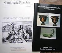 image of Numismatic Fine Arts. Publication No. 37, Summer 1989. Numismatic Literature.