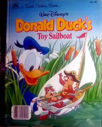 A Little Golden Book WALT DISNEY'S Donald Duck's Toy Sailboat