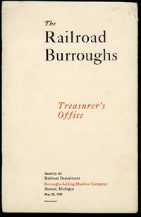 The railroad Burroughs. Treasurer's office