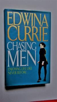 Chasing men.