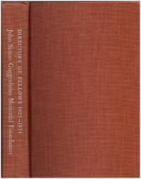 The John Simon Guggenheim Memorial Foundation 1925-1974
