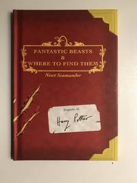 collectible copy of Fantastic Beasts and Where to Find Them