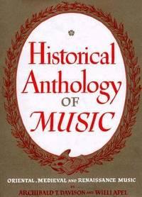 Historical Anthology of Music