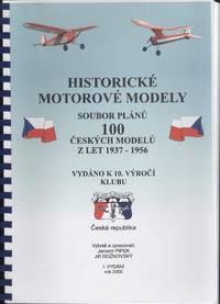 Historicke Motorove Modely Soubor Planu 100 Ceskych Modelu Z Let 1937 - 1957  (Historic Model Plans - 100 Model Plan diagrams)