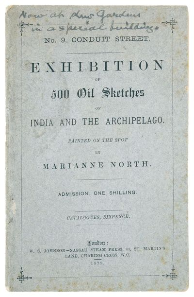 [Catalogue for an:] Exhibition of 500...