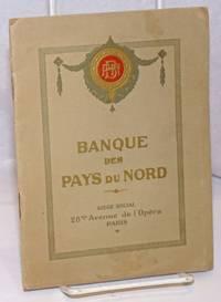 image of Banque des Pays du Nord. Societe Anonyme au Capital de Trente Millions de Francs