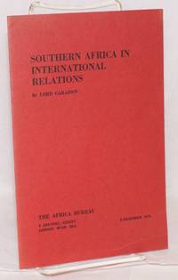 Southern African in International Relations