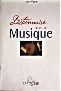 image of Dictionnaire de la Musique