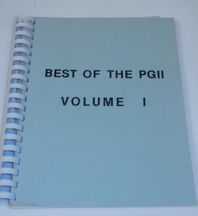 : , . Comb. Good. iv, 208 pages. 8 1/2 x 11 inches. Comb bound. A poorly produced xerox or laser pri...