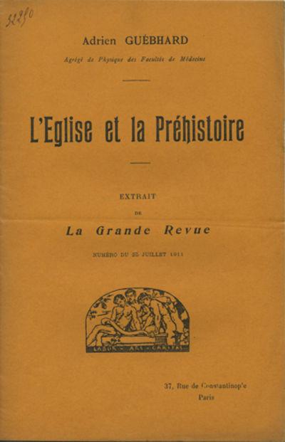 Paris: Impr. de Berger et Chausse, 1911. Offprint. Paper wrappers. A very good copy with a fold.. pp...