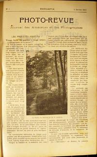 Photo-Revue, Journal des amateurs et des photographes (1913). by Collectif - from Librairie Traits et Caracteres (SKU: 4356)