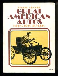 image of Great American Autos from 1890 to 1930