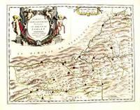 Dioecesis Sarlatensis Vernacule le Dioecese de Sarlat by  Guilielmum Blaeu  - 1635  - from Antipodean Books, Maps & Prints (SKU: 10768)