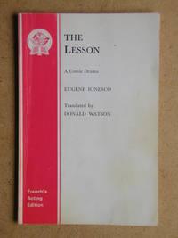 The Lesson: A Comic Drama.