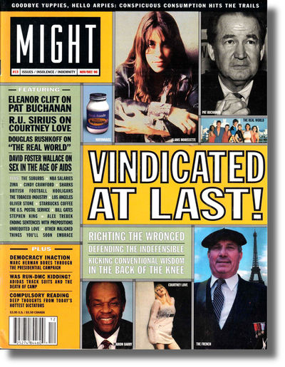 SF: Might Magazine, 1996. Paperback. Very good. Light crease to bottom front corner, else very good ...