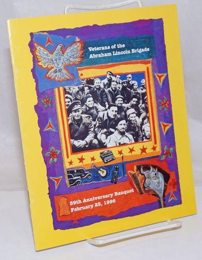 San Francisco: the Post, 1995. , illus. program, 8.5x7 inches, staplebound pamphlet, very good condi...