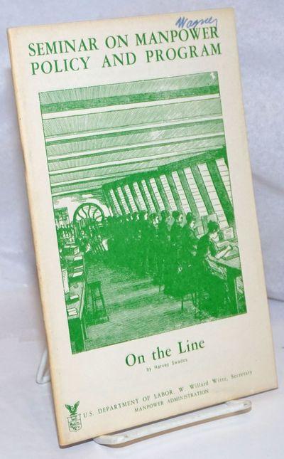 Washington: United States. Department of Labor, 1966. 36p., stapled wraps, 6 x 9.25 inches, wraps li...