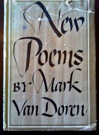 New Poems of Mark Van Dorn