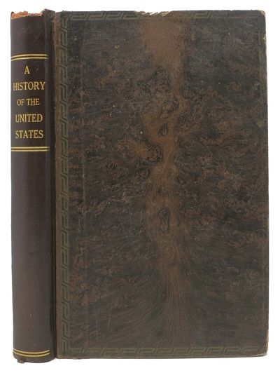 New York: The World, 1886. 1st edition. Tree-calf binding with rebacked leather spine. Gilt stamped ...