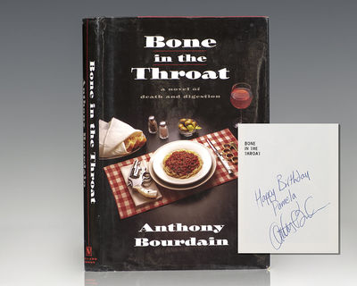 New York: Villard Books, 1995. First edition of Bourdain's first book. Octavo, original half cloth. ...