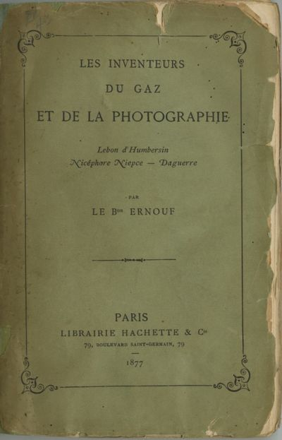 Paris: Librairie Hachette, 1877. First edition. Small 8vo., vi, 191 pp. Printed paper wrappers, whic...
