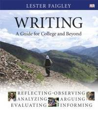 image of Writing: A Guide for College and Beyond