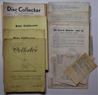 image of Disc Collector; Official Organ of National Hillbilly Record Collectors' Exchange, ( 16 Issues),1951-1961, and  Disc Collector News Letter , Nos. 1-5, Jan. - Sept., 1964, with Related Ephemera