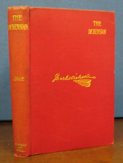 London: Chapman & Hall, 1908. 1st edition. Red cloth with gilt lettering & facsimile Dickens' signat...