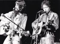 The Concert for Bangladesh (Original photograph of George Harrison and Bob Dylan from the 1972 film)