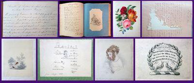 Scotland, 1839-1866. Most likely Helen Maria Imrie 4 Aug 1820 - 24 Jul 1904, Ferry-Port-on-Craig, Fi...