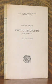 image of MATTINO DOMENICALE ED ALTRO POESIE