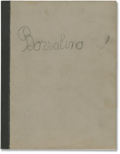 Paris: Adel Productions, 1969. Draft script for the 1970 French film noir, here under the working ti...